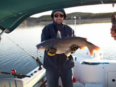 Catfish caught in March, 2009